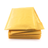 Gold Padded DVD Size Bubble Envelopes 170mm x 215mm